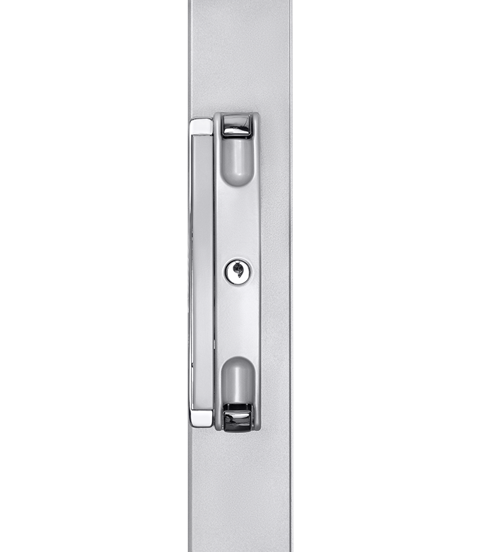 ANDO™<br>Slimline Surface Mounted Sliding Door Lock